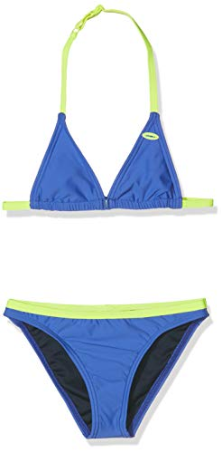 O'Neill Mädchen PG Essential Bikini Set, Blau All Over Print, 152