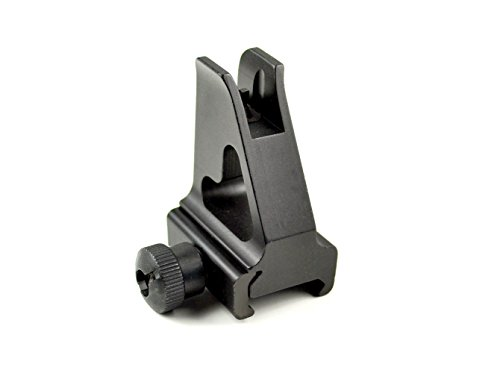 Sniper-Grunt High-Profile, Aluminum Alloy Front Iron Sight for Picatinny Rail