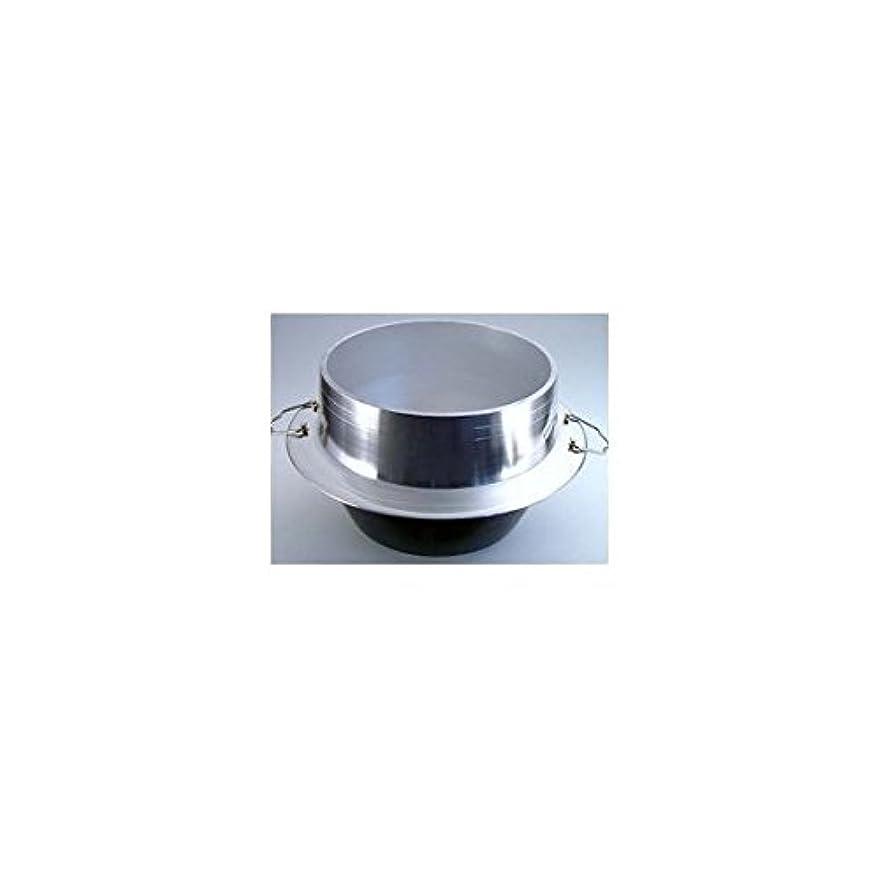補正病気蜂ナカオ 羽釜 (カン付) 28cm アルミ鋳物 日本 AKVG828