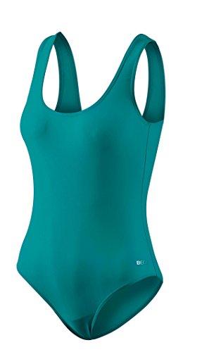 Beco Damen Basic Schwimmanzug, Petrol, Gr. L