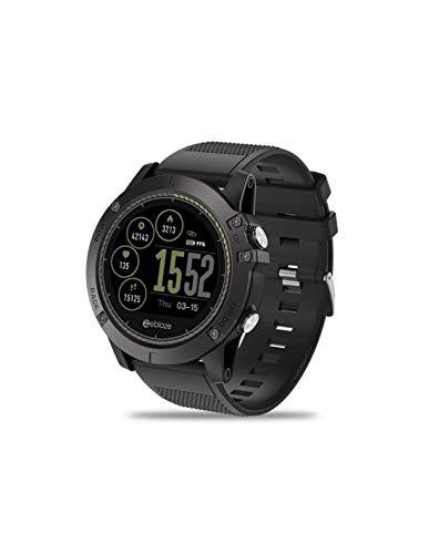 RONEBERG RVIBE3 - Reloj deportivo para hombre con seguimiento de actividad fisical, color negro
