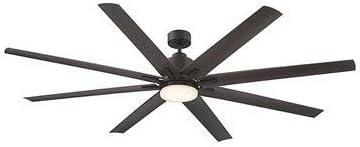 "Savoy House 72-5045-813-13 Bluffton 72"" 8 Blade Ceiling Fan, English bronze Finish"