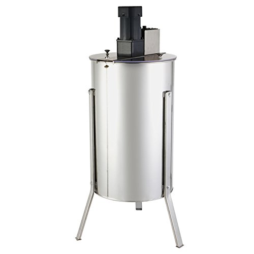 Happybuy 3XXD Electric Honey Extractor Stainless Steel 3 Frame