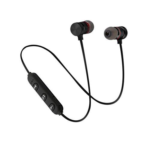 Luckiests XT6 drahtloser Kopfhörer Bluetooth 4.1 In-Ear-Ohrhörer Hals In-Ear-Headset Neck-Stereo-Headset Sport Earbuds Hanging