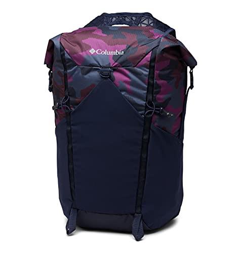 Columbia Tandem Trail 22L Backpack Zaino, Scuro Notturnal/Prugna Camo, Taglia Unica Unisex-Adulto