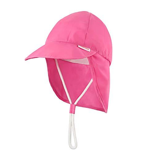 Niños Bebé Sombrero de protección Solar UPF 50+ (6 Meses-5 años, 43-55...