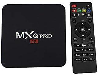 MXQ PRO Android receiver TV Box 4 Core 64 bits CPU 4K KODI Pre-installed Smart OTT TV Box