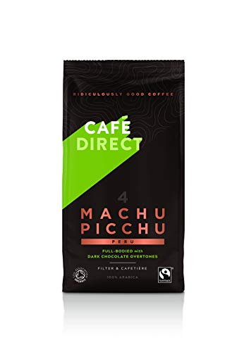 Cafédirect Machu Picchu Bio Fairtrade gemahlener Arabica Kaffee 227g (6er Pack)
