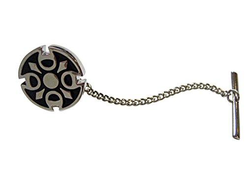 Round Celtic Design Tie Tack