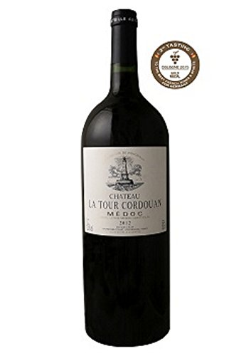 MAGNUM - CHATEAU LA TOUR CORDOUAN - 2012 - Red wine - Grand Vin Rouge de Bordeaux Médoc - AOP Médoc 2012 - Gold medal concours Cologne 2015-1.5L