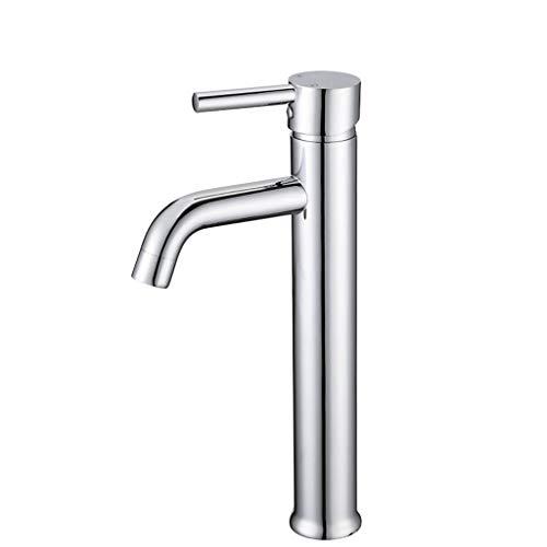 Loodvrije koperen basin kraan badkamerkast wastafel waterkraan eenhands hete en koude mengkraan