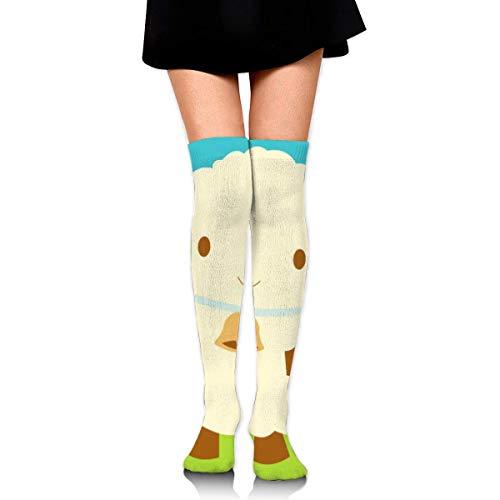 iuitt7rtree Mädchen Rock Socken Uniform Cute Sheep Frauen Tube Socks Compression Socks socks7701