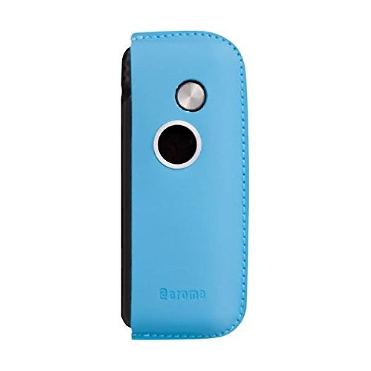 かもめ妻ことわざファンファン(ブルー)&人気のアロマset【モバイルディフューザー funfan+AromaOil】mobile diffuser (Sunshine)