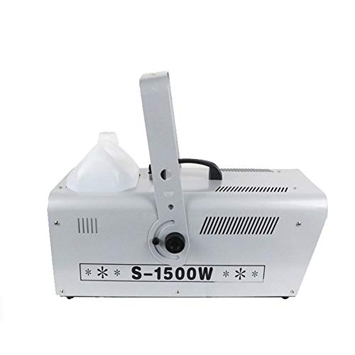 ADHW Stage Snowflakes Snow Machine Fake Snowflake Effect Storm Blizzard Blower with Remote Control Snow Winter Machine for Christmas Halloween Holidays 1500W 51.5 * 22.5 * 22.5cm Stage Effects