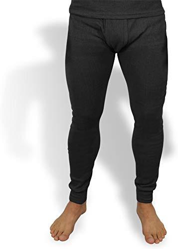 normani Sehr warme Thermo Unterwäsche Unterhose Lang Farbe Anthrazit Größe 4XL