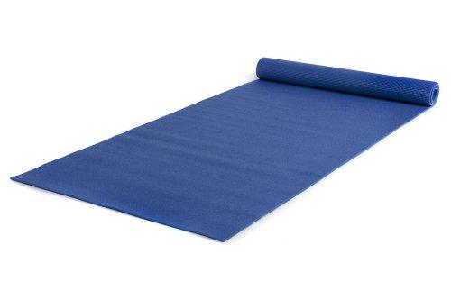 Yogistar Yogamatte Basic XXL - rutschfest und sehr gross - Königsblau