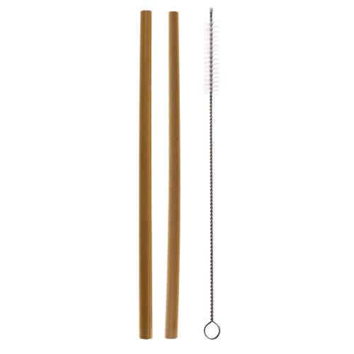 S-TROUBLE Cannucce Bamboo Straw Eco Friendly Eco riutilizzabili Cannucce di bambù organiche