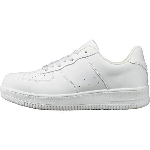 [ジーベック] 安全靴 85141 JSAA規格B種認定品 耐滑セーフティシューズ ホワイト 30 cm 4E 85141-32-300