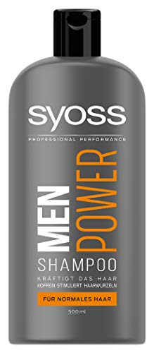 Syoss Shampoo Men Power, 1er Pack (1 x 500 ml)