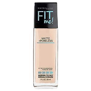 Beauty Shopping Maybelline Fit Me Matte + Poreless Liquid Foundation Makeup