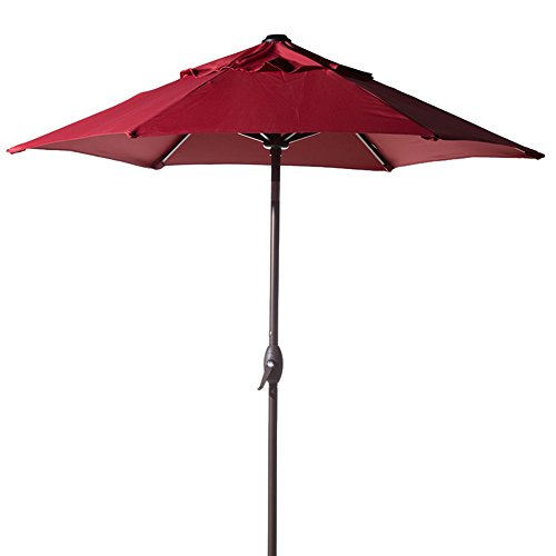 Abba Patio 7-1/2 ft. Round Outdoor Market Patio Umbrella with...