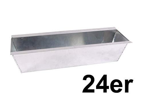CB Home % Style Blumenkasten Pflanzkasten Set Einsatz für Europaletten Balkonkasten Palette Topf (24)