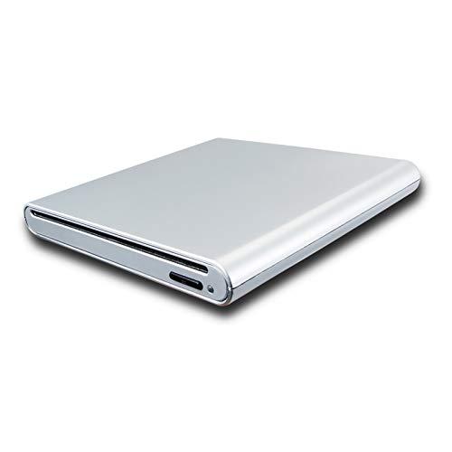 Reproductor de disco portátil externo USB 3.0 Blu-ray Películas para Alienware M15...