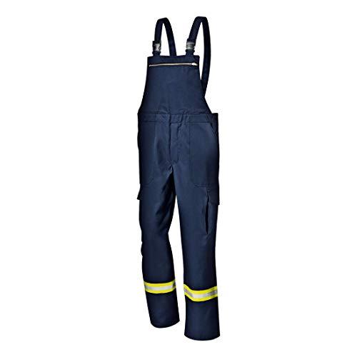 Feuerwehr-Latzhose Nomex (dunkelblau) 62 (5 Stueck)