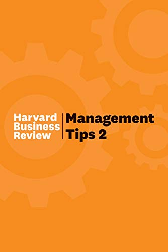 Management Tips 2: From Harvard Business Review Front Cover