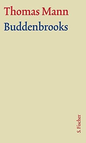 Gro?e kommentierte Frankfurter Ausgabe.: Romane und Erz??hlungen Buddenbrooks m. Kommentar by Thomas Mann;Herbert Lehnert;Eckhard Heftrich(2002-06-01)