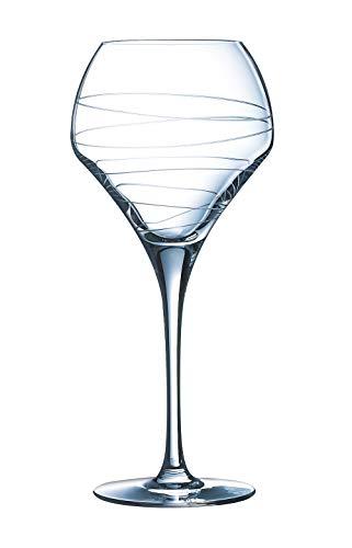 Chef&Sommelier J1264 Verre à Pied Open Up Arabesque, 37 cl, en cristallin, Transparent