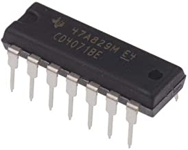 Texas Instruments CD4071BE CD4071 CMOS Quad 2-Input OR Gate Breadboard-Friendly (Pack of 20)