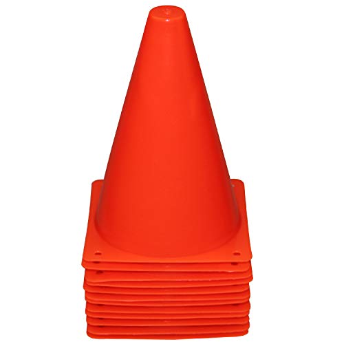 Reehut Color Cone, Mini Triangle, Sports, Marker Cone, Sports Events, Lightweight, Elastic, Safety Cone, For Athletes, Footsoccer, Basketball, Competition, Events, Gym, Lawn, Triangle Corn, Roller Skating, Road Cone, Construction Supplies, Universal Use, 12/24 Pack, 4 Colors