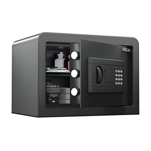 MAGLAG Safe Box Safe Lock Box with Steel Contruction, Digital Keypad Safes with Wall or Floor...