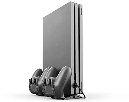ElecGear PS4 Soporte Vertical Dual Estación Carga