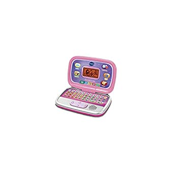 V Tech - Ordi Genius Kid, Rose - Version FR