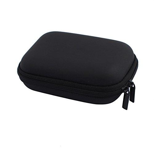 Aexit 117 x 82mm Mini Portable Kopfhörer Geldbörse Kopfhörer Fall Kabel Aufbewahrungsbox (a723fd99f72a4deb2085ad3d78b5d3e1)