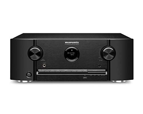 Marantz SR5015 7.2-Kanal AV-Receiver, Hifi Verstärker, Alexa kompatibel, 6 HDMI Eingänge und 2 Ausgänge, 8K Video, WLAN, Musikstreaming, Dolby Atmos, AirPlay 2, HEOS Multiroom