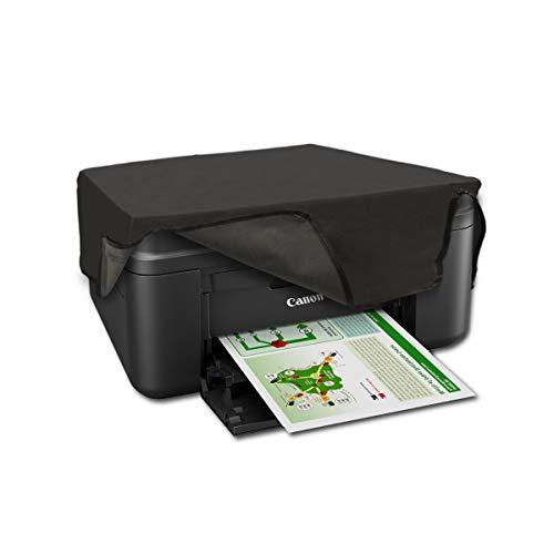 kwmobile Funda compatible con Canon Pixma MX495 / TR4550 / 4551 - Cubierta antipolvo de impresora -...