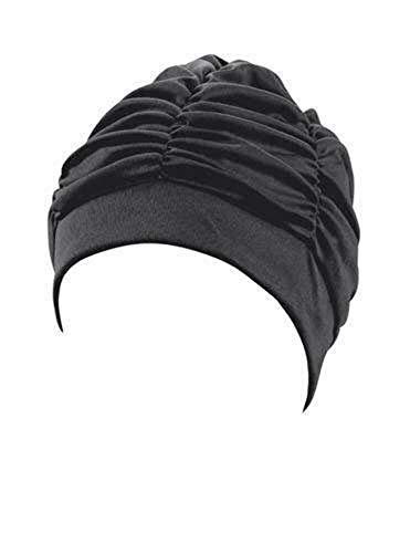 Beco Stoffhaube Damen Badehaube, schwarz, One Size
