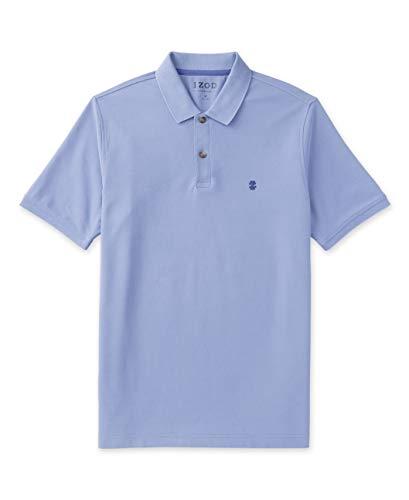 Izod Herren Big and Tall Advantage Performance Short Sleeve Solid Polo Shirt Poloshirt, Helles Kobaltblau, XXX-Large Hoch