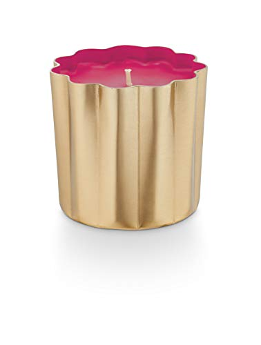 Illume Candles Thai Lily Metal Tin - Vela en Forma de Flor