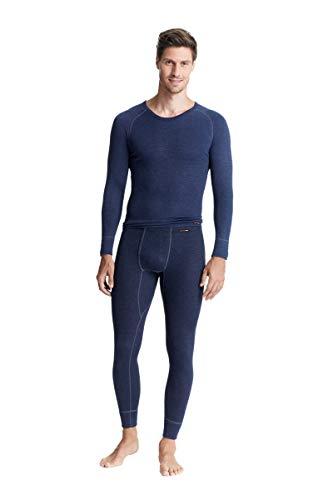 con-ta heren ondergoed met lange mouwen marineblauw Maat 7