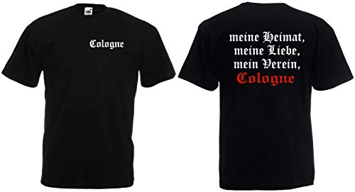 World of Shirt Herren T-Shirt Cologne Ultras Meine Heimat