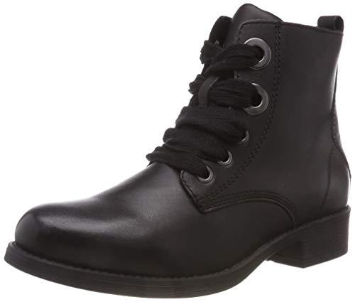 Bianco Damen Heavy Lace Boot Stiefeletten, Schwarz (Black 100), 38 EU