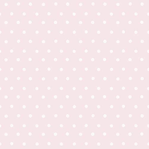 Little Ones Eco Tupfen Wallpaper Rosa GranDeco LO2602