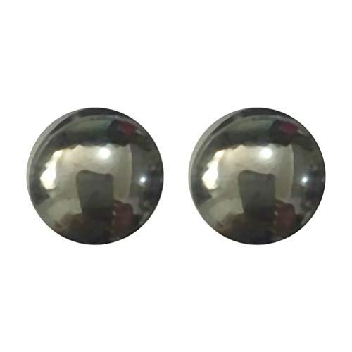 Healifty 5 Paar Magnetic Healthcare Ohrring Gewichtsverlust Ohrringe Abnehmen Ohr Gesunde Stimulierung Akupunkturpunkte Ohrstecker Magnetfeldtherapie