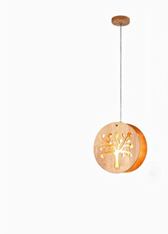 Pendelleuchte Kreative Mode Mond Kinderzimmer Küche Wohnzimmer Massivholz Kronleuchter Treppe Balkon Kronleuchter E14 Hngeleuchte (Farbe   A)
