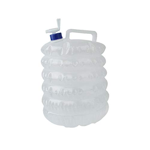 IUwnHceE Botella Plegable 10L Cubo de plástico con Agua del Grifo a Bordo del envase del Agua Que acampa Portable Cabezal de Ducha con 2 m de Manguera artículos del hogar Gancho Ajustable