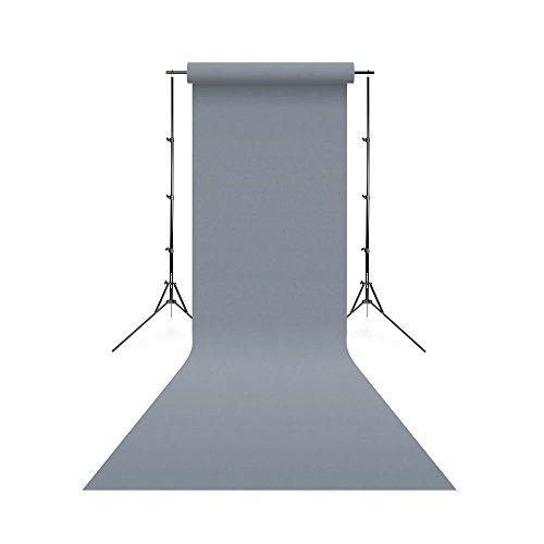 Linkstar 1,35 x 11 m Achtergrondrol - 74 grijs rook